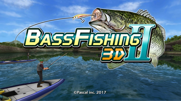 Evolutionary Fishing Game App Bass Fishing 3d Ii Now Released For
