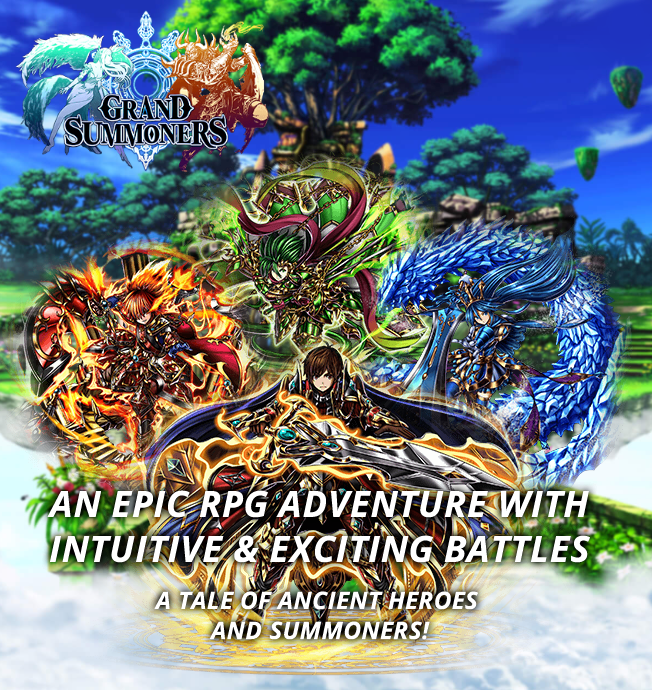 """GOOD SMILE COMPANY's action adventure RPG """"Grand Summoners"""